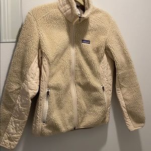 Women's large insulated Patagonia winter jacket